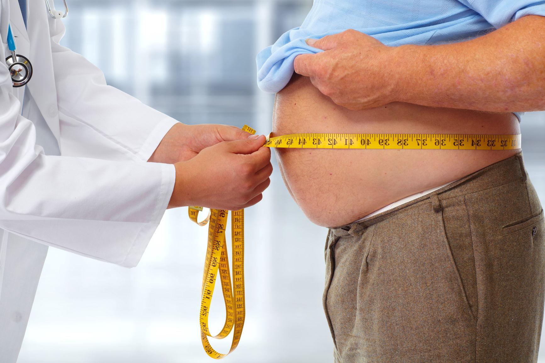 bli kvitt magefettet for å bedre din helse