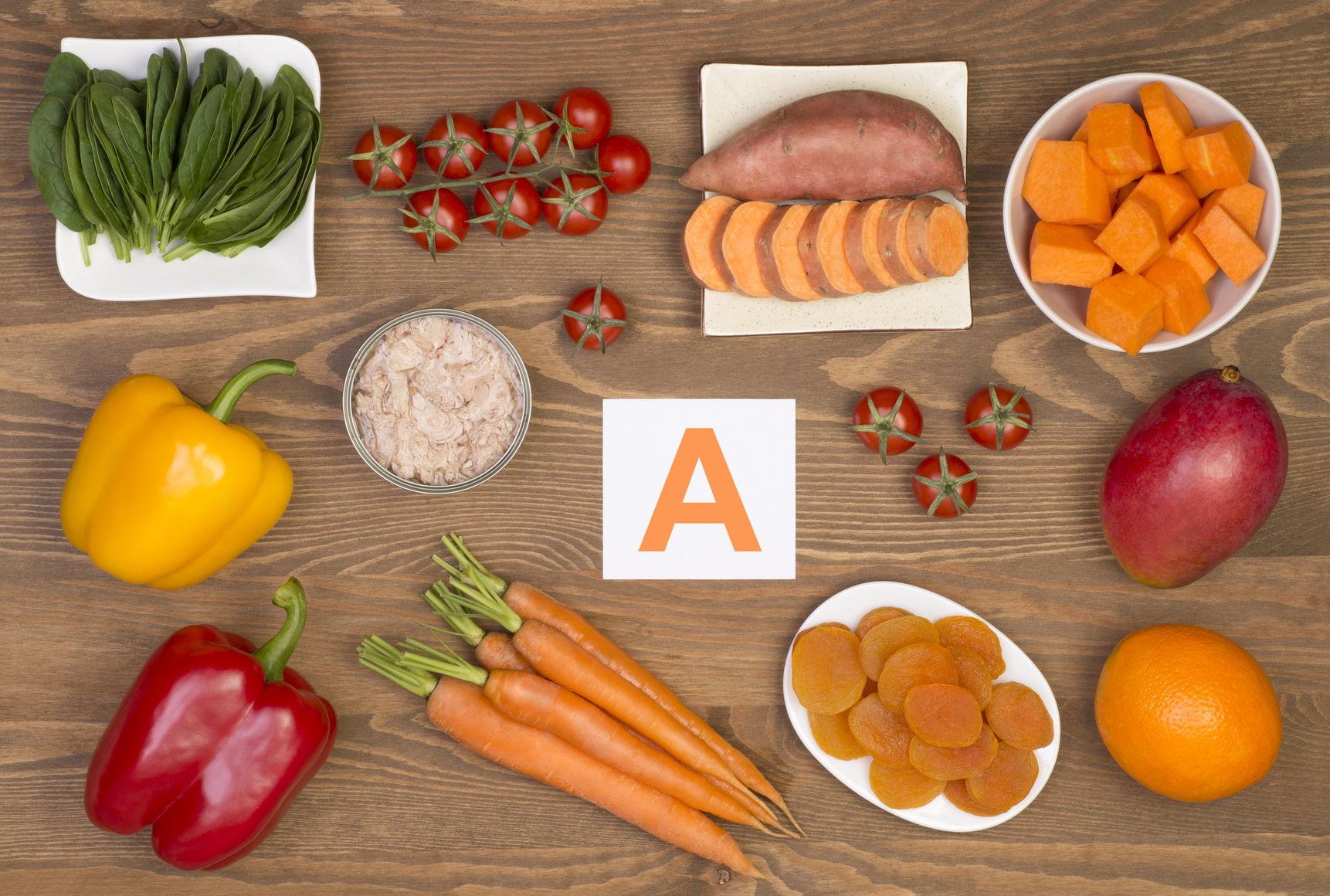betakaroten er det sterkeste forstadiet til vitamin A