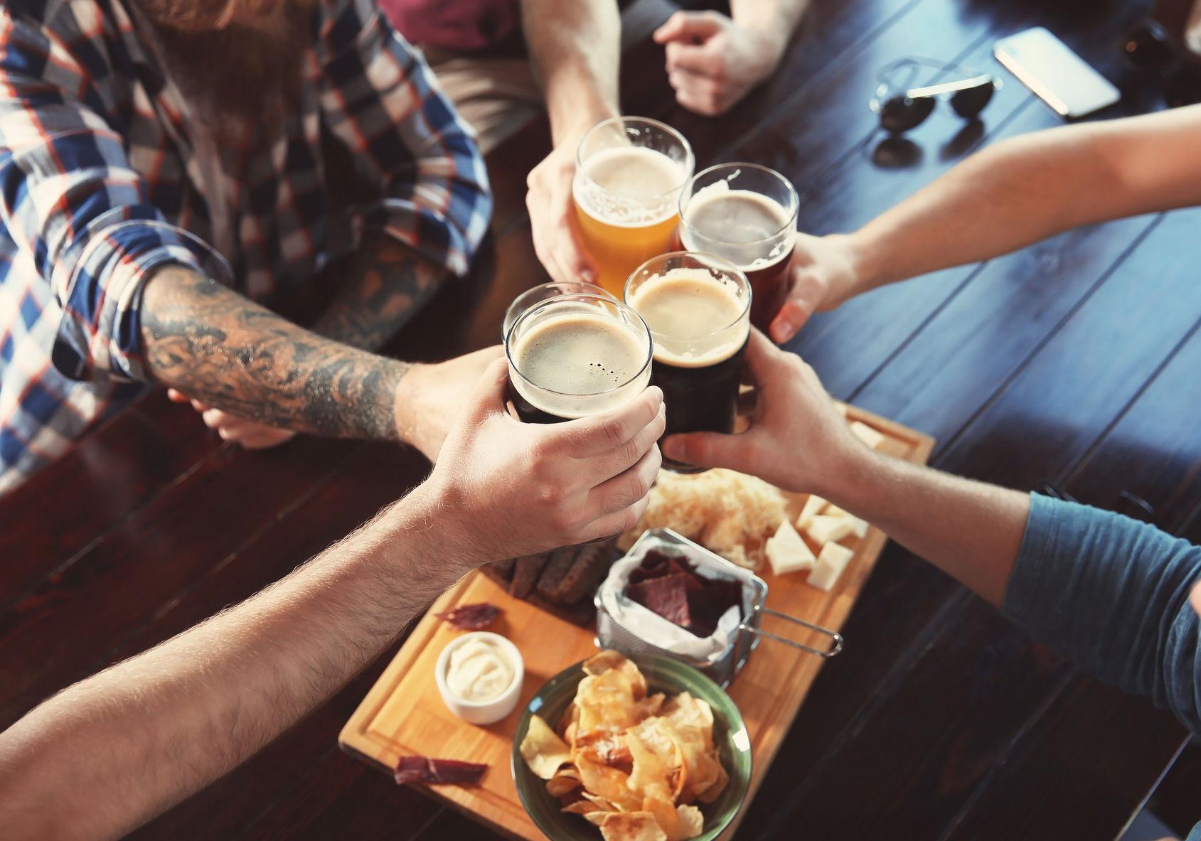 vektnedgang og alkohol