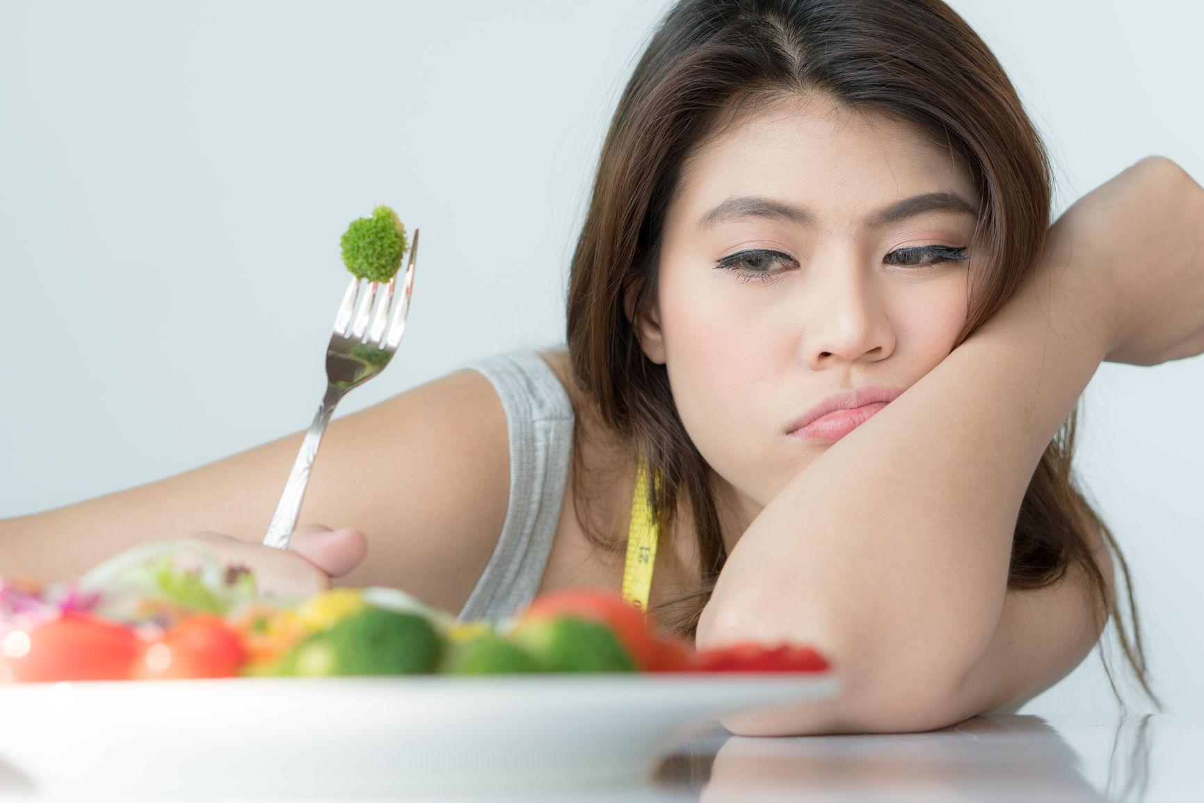du går ikke ned i vekt med dårlige vaner